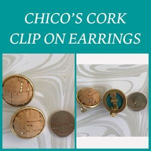 CHICO'S CLIP ON EARRINGS